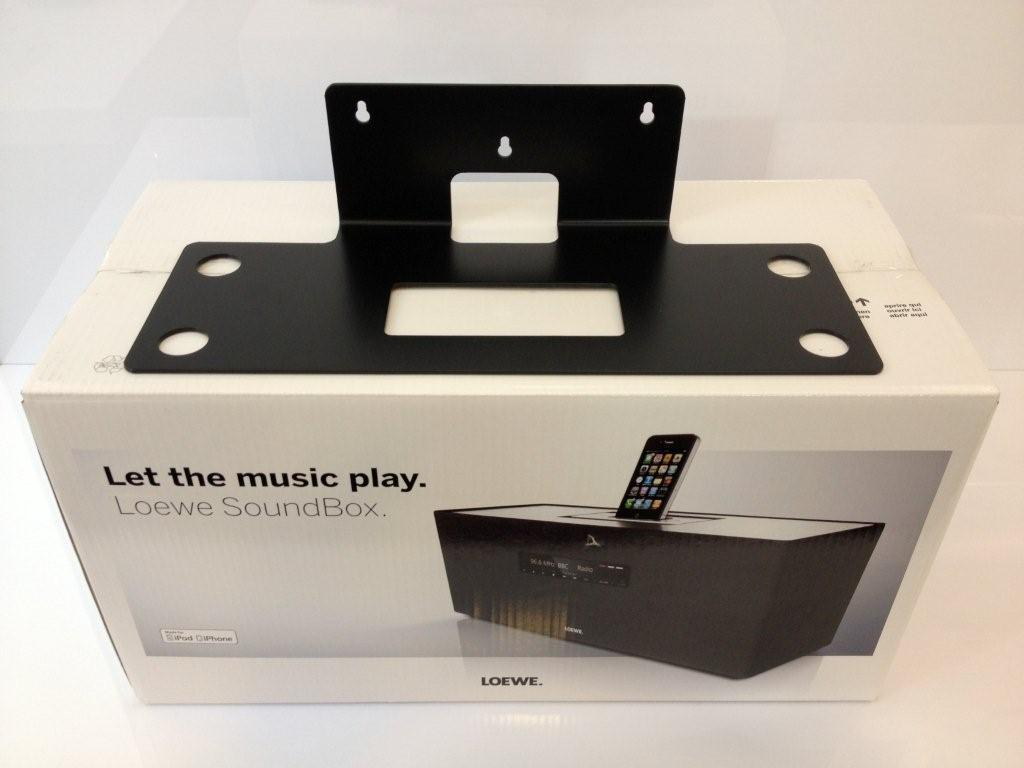 Wall Mount COMPATIBLE Loewe Sound Box
